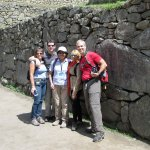 Last few minutes in Machu Picchu after a great couple of days with Emilia