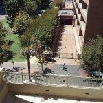 From our 5th floor window (below just below)