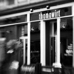 Restaurant-Eingang vom thomawirt
