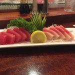 Yellow Tail and Tuna Sashimi