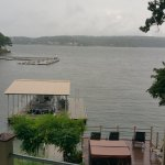 Dock on property. How Tub on deck overlooking Lake of the Ozarks. Creatively Landscaped.