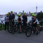 Exploring Auckland by bike