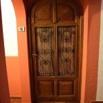 Door iron work