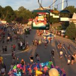 Sky Glider at the Iowa State Fair
