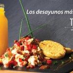 Ahora te invitamos a probar nuestros Desayunos