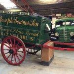 A horse-drawn bread wagon