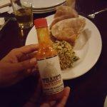 homemade sauce - lovely!