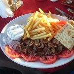 The excellent Gyros Plate from the Acropol !