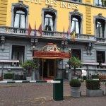 Hotel des Indes straalt nog de grandeur van voeger uit