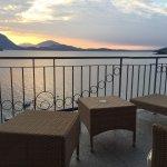 Alba sul lago Maggiore....