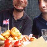 British sampler (faces obscured)