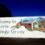 Mural, Historic Downtown Cottage Grove, Oregon