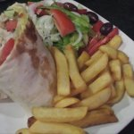 chicken wrap, massive