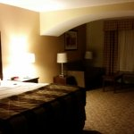 Very nice spacious room. Super comfortable bed. Enjoyed my stay. Did I mention how comfortable t