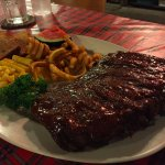 Great Rib with 2 choices of side dishes