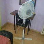 la ventilación de la habitación