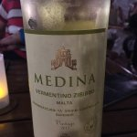Maltese wine! Very nice at 12.50 Euro a bottle!