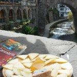 Con estas vistas la tabla de quesos sienta mejor...