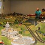 San Pietro a Roma e la sua collocazione sul plastico poco realistica