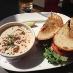 BLT and soup