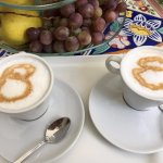 personalized cappuccinos!!