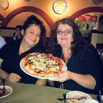 One of several things we tried - this pizza...OMG! I never had one with artichoke hearts on it !