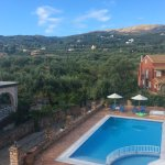 Taken from our balcony. Wonderful mountain views and of the pool