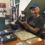 Simply the best coffee and the best host. Mike roasts the coffee right there and you can buy bag