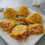 Delicious Food in Salinas, Puerto Rico. La Cuna del Marisco (The Crib of Seafood)