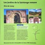 Jardin de sculpture romane de Lozay