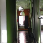 Pasillo (galeria) central durante la mañana