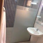 a very average looking bathroom