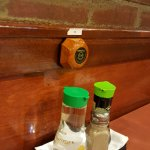 Dining tabletop food flavoring condiments