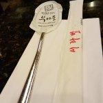 Restaurant's dining table utensils for patrons
