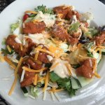 Flags - Chicken Wing Salad