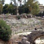 Siracusa - Imperial Roman Amphitheater - around 45 mins away.