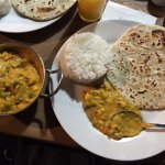 mix de vegetales al curry