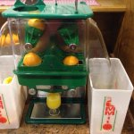 Freshed squeezed OJ machine at breakfast!