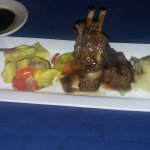 Lamb Chops with Garlic Mashed Potatoes and Squash! Just the best...