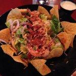 Southwest Grilled Chicken Salad (substitute grilled shrimp)