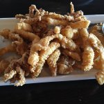 Most tender calamari my husband and I ever had! Love the spicy dipping jam too!