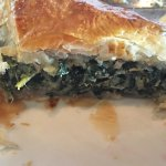 Love their spanakopita! I do prefer that It is served as an appetizer option rather an just full