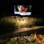 A special film-orientated summer, outdoors film screening and meal
