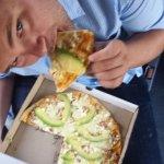 uncooked pizza dough aftre 45 minutes