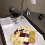 Complimentary Cheese Plate