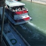 """Sicht auf Donaukanal """"Wien"""""""
