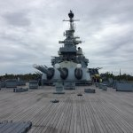Battleship NORTH CAROLINA Foto