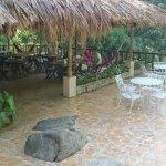 Restaurant area in Yuluka