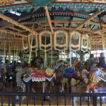 Carousel was well kept.