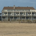 Eastward side of the hotel - facing the beach/ocean